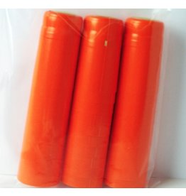 Orange PVC Shrink 500 Pack