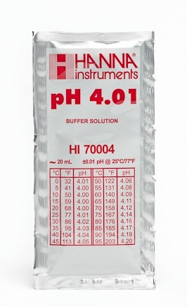 Ph Meter Buffer Solution Ph 4.01 (20mL Pack)