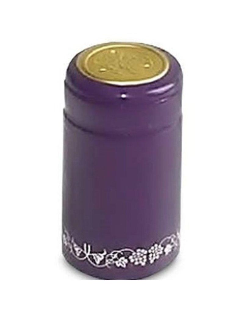 Purple PVC Shrinks 30/Bag