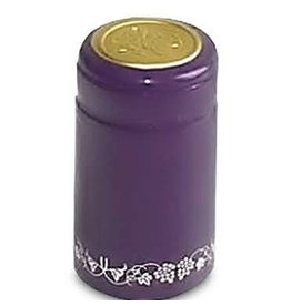 Purple PVC Shrink 500 Pack