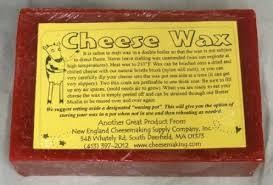 Ricki 1lb Red Cheese Wax