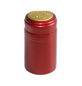 Ruby Red PVC Shrink 500 Pack