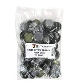 Silver Oxygen Barrier Caps Crown Caps