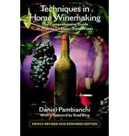 Techniques In Home Wine Making