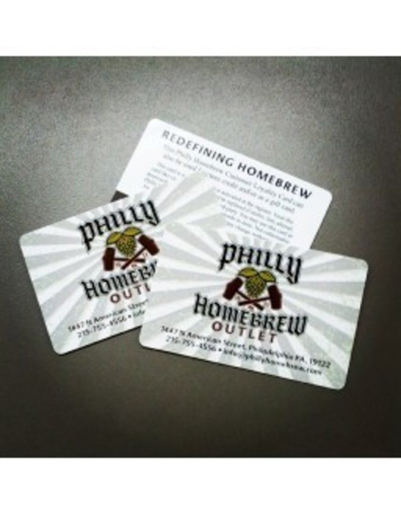 Philly Homebrew Outlet Gift Card