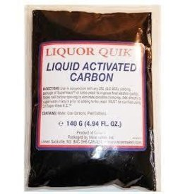 Activated Liquid Carbon 140G Grams Liqour Quik