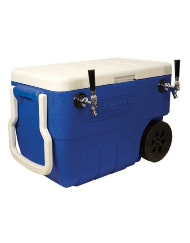 Foxx Equipment Jockey box Coil Cooler, 2-fct 50' (Blue)