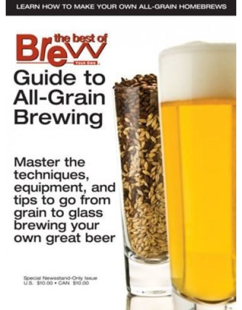 BYO Guide To all grain brewing