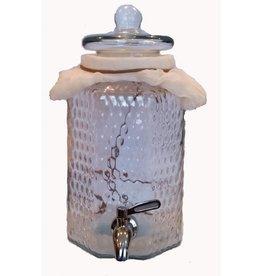 Supreme Vinegar 1 Gallon Vinegar / Kombucha Jar w\ 304 SS Spigot