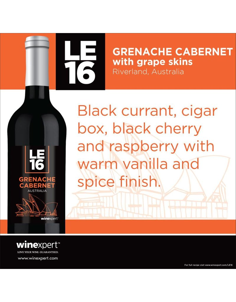 2016 Limited Edition Grenache Cabernet with Grape Skins Wine Kit (Apr)