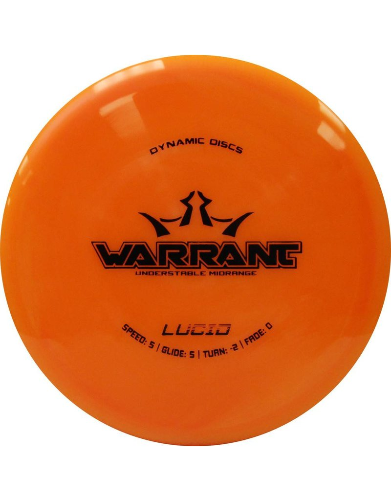 Dynamic Discs Lucid - Warrant
