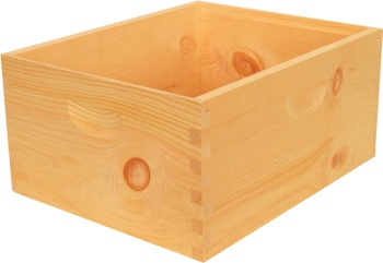 8-Frame Assembled Hive Body (Deep Super)