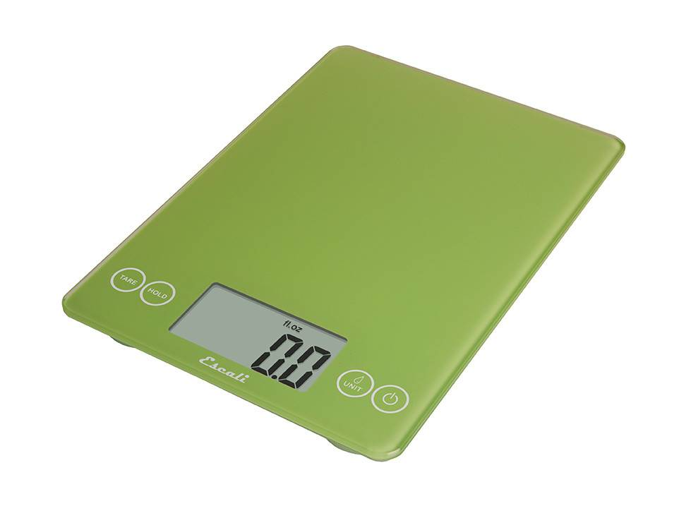 Escali Arti Digital Glass Scale - Key Lime Green