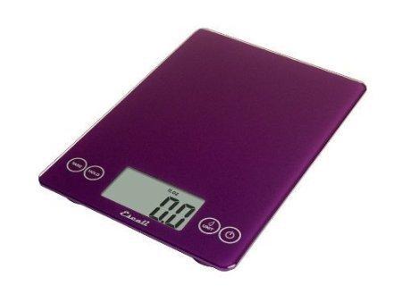 Escali Arti Digital Glass Scale - Deep Purple