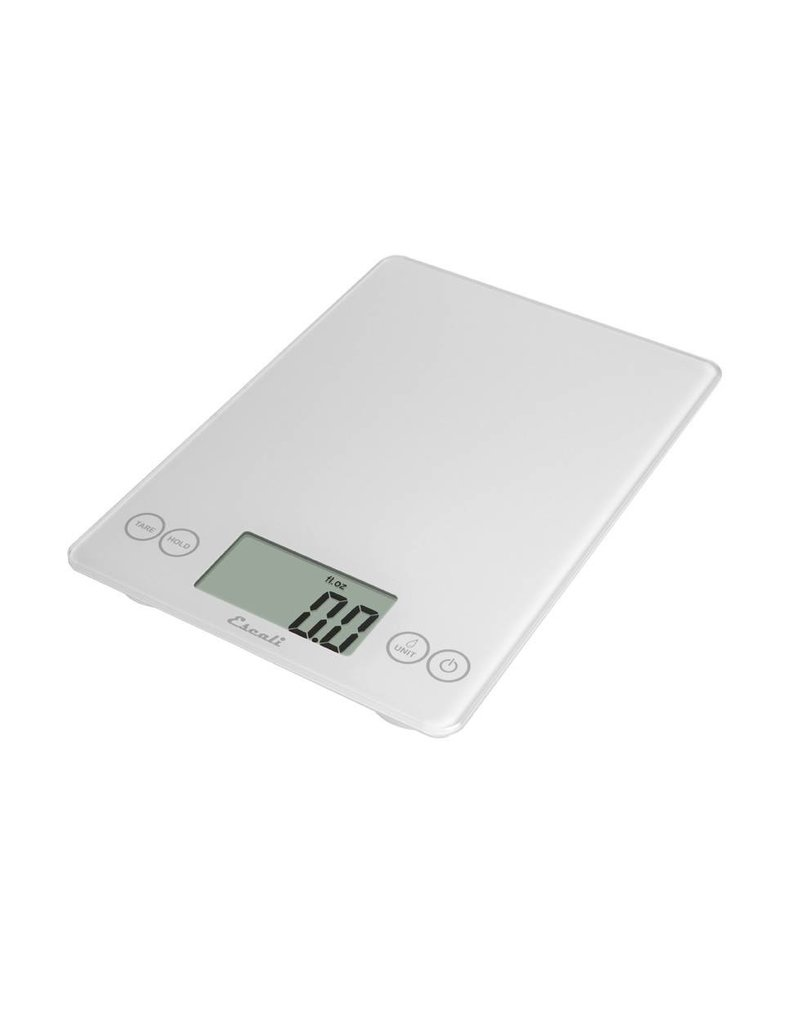 Escali Arti Digital Glass Scale - White