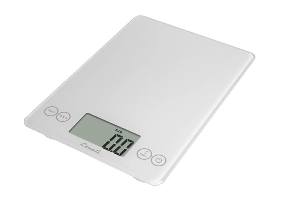 Escali Arti Digital Glass Scale - White