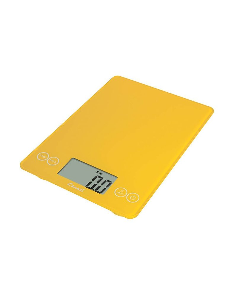 Escali Arti Digital Glass Scale - Solar Yellow