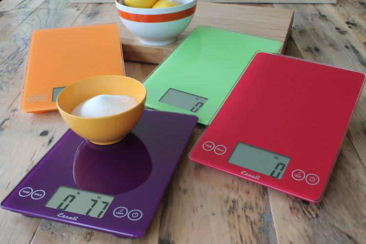 Escali Arti Digital Scale - Retro Red