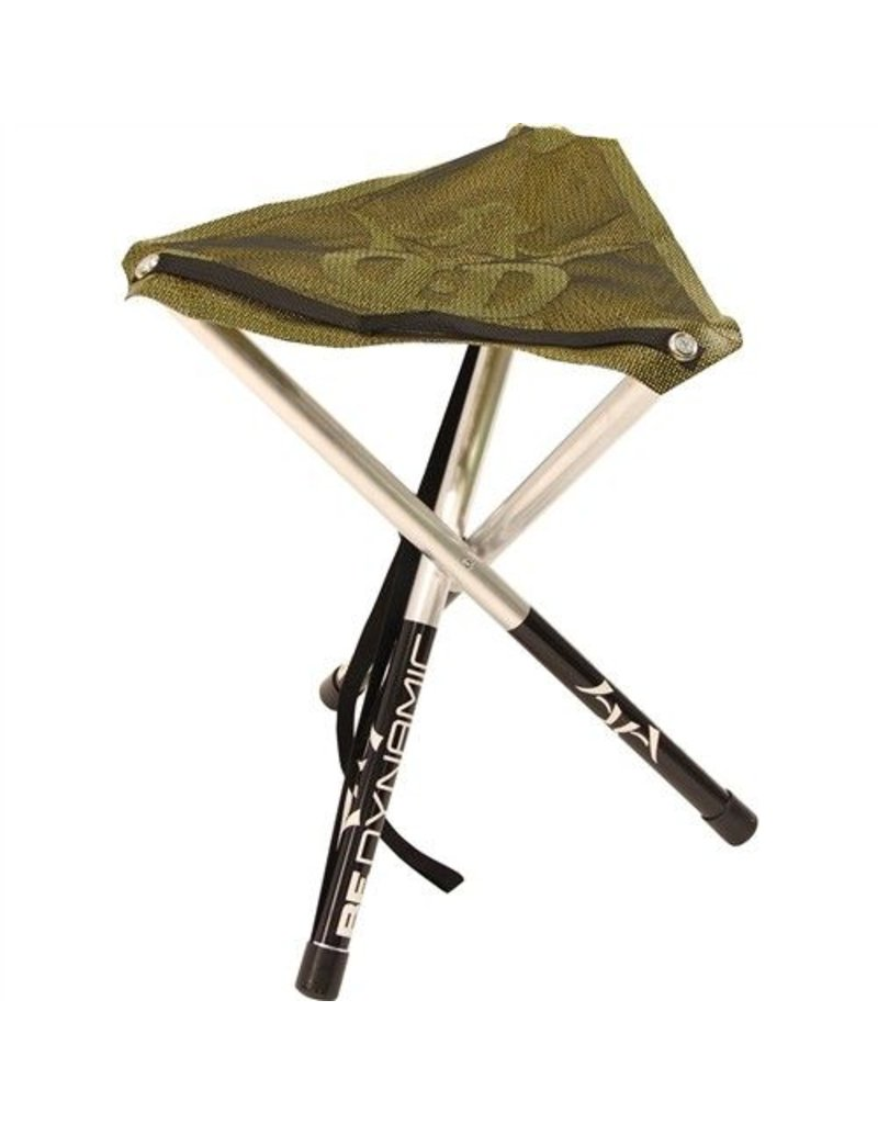 Dynamic Discs Two Tone Mesh Camp Stool - Hunter Green
