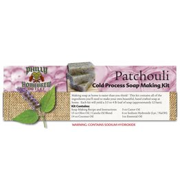 Philly Homebrew Outlet Patchouli CP Soap Making Kit
