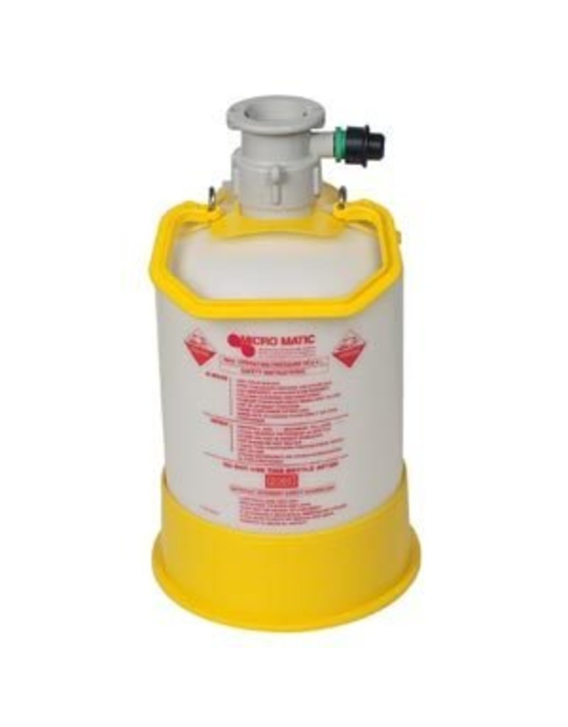 Pressurized Cleaning Bottle - D Style 1.3 Gallon