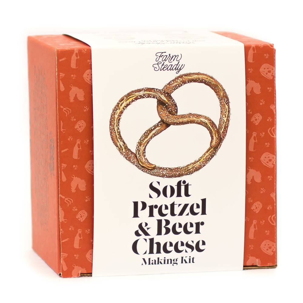 Farm Steady Soft Pretzels & Beer Cheese Making Kit