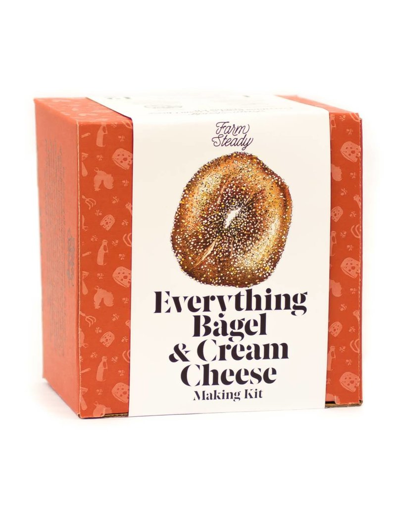 Everything Bagel & Cream Cheese Making Kit - Farm Steady