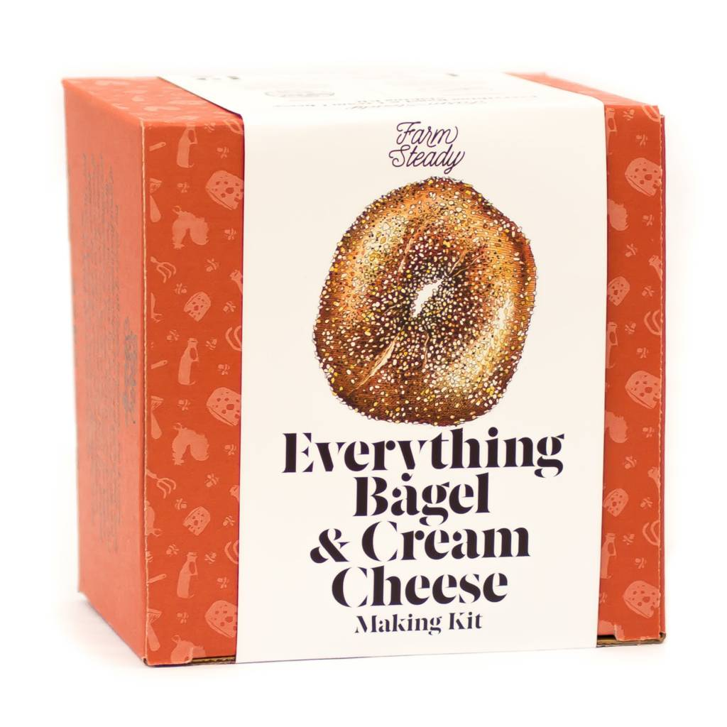 Everything Bagel & Cream Cheese Making Kit - Farm Steady