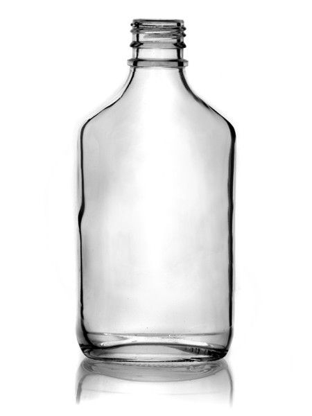 200ml Flint Glass Flask single