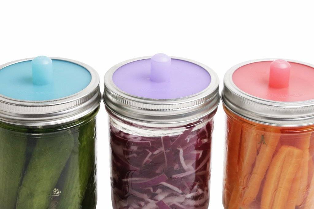 Pickle Pipe Regular Mouth - Fermentation Airlock 4 Pack