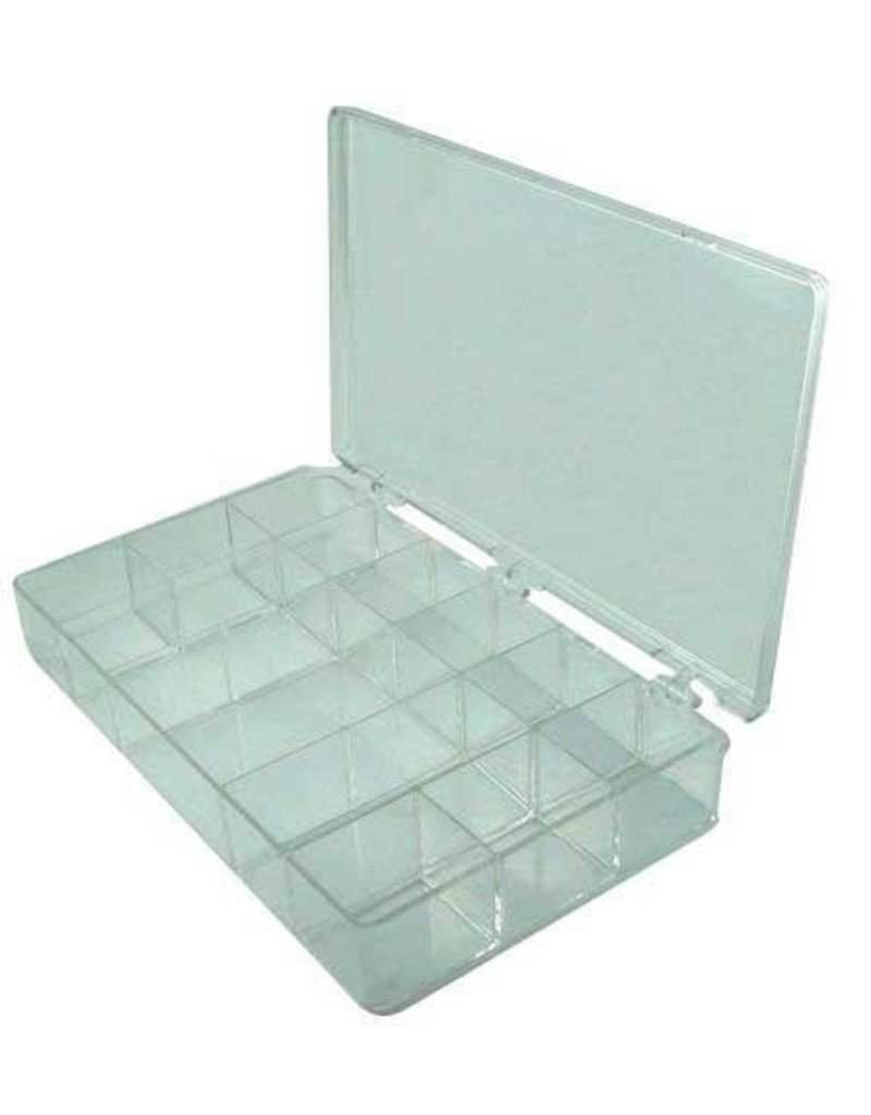 Parts Box - Clear (13 compartments)