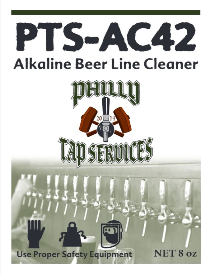 PTS-AC42 Alkaline Beer Line Cleaner 8oz