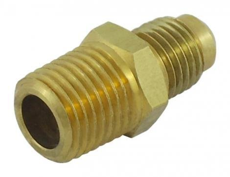 Regulator Adapter, 1/4'' MFL x 1/4'' MPT (LHT)