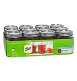 Ball 1/2 Pint (8 oz) Regular Mouth Jar Jars