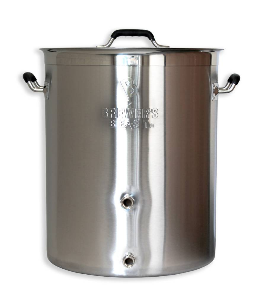 16 Gallon Brewer'S Beast Brewing Kettle W/ Two Ports