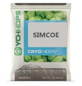 YCHHOPS Simcoe Cryo (US) Pellet Hops LupuLN2 1oz