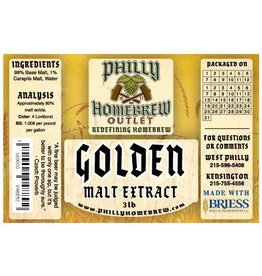PHO 3lb Golden Light LME Malt Extract