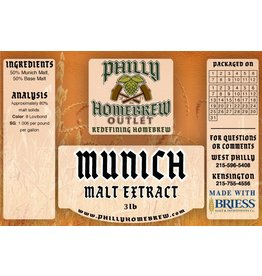 PHO 3lb Munich LME Malt Extract