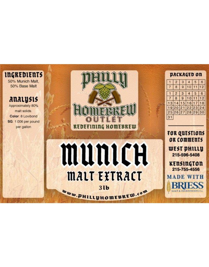 PHO 3lb Munich LME Malt Extract