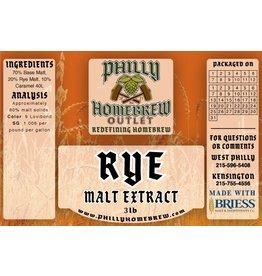 PHO 3lb Rye LME Malt Extract
