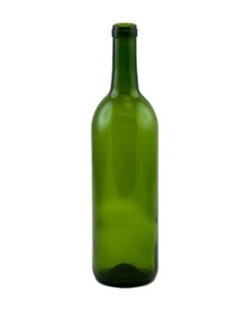 750 Ml Dark Green Wine Bottle (CWG-019)