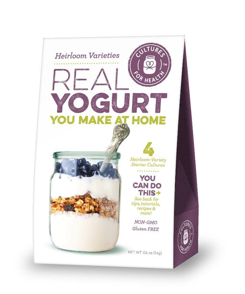 Heirloom Varities Yogurt Starter Culture (Cultures for Health)