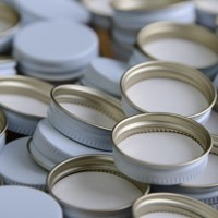 28mm Metal Screw Caps (100 Bag)