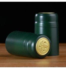PVC Green Matte Shrink/Capsule 500ct