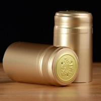Gold PVC Shrink 500 Pack