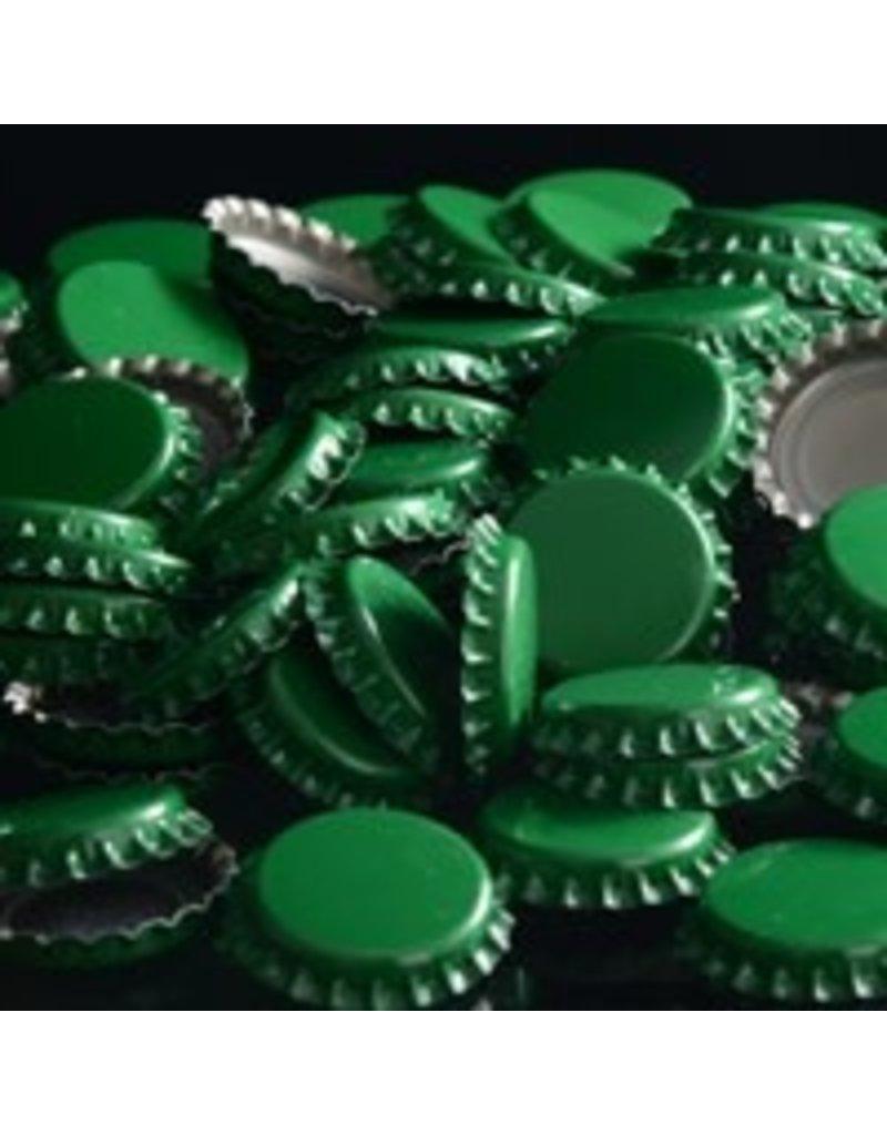 Green Oxygen Barrier Caps Crown Caps