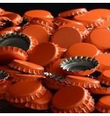 Orange Oxygen Barrier Caps