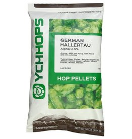 German Hallertau Hops 1oz pellets