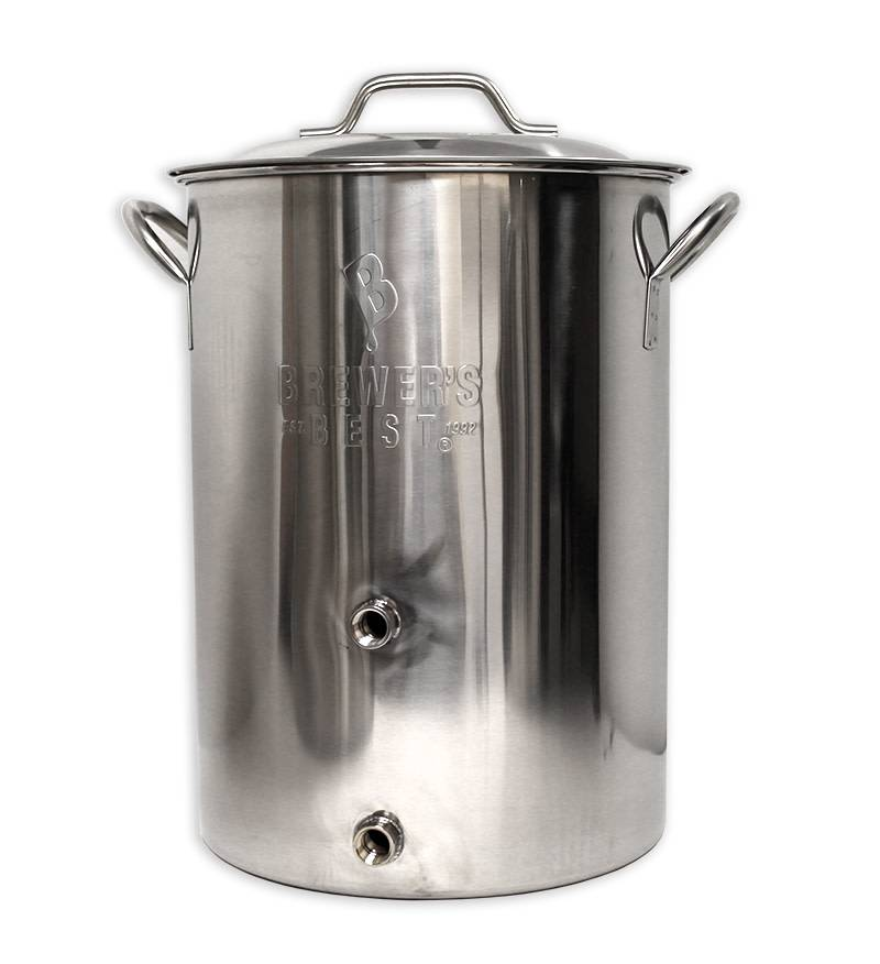 8 Gallon BB Basic Kettle w/ 2 Ports
