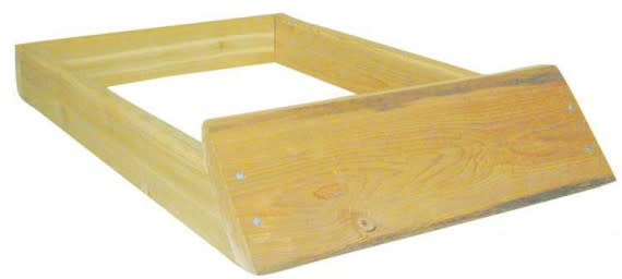 10-Frame Cypress Hive Stand